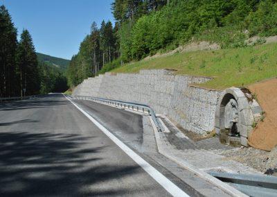 Dopravní stavby - Prodej gabionových konstrukcí a materiálů